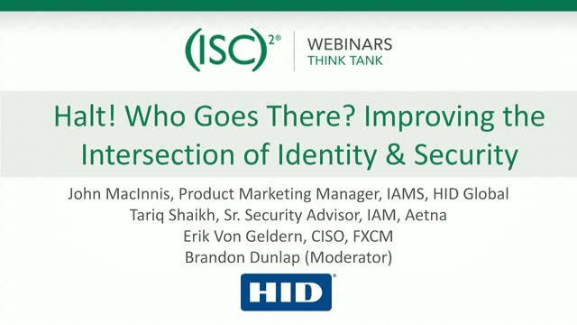 Halt! Who Goes There? Improving the Intersection of Identity & Security