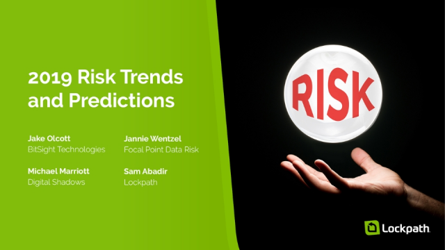 2019 Risk Trends and Predictions