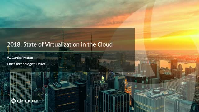 2018: State of Virtualization in the Cloud