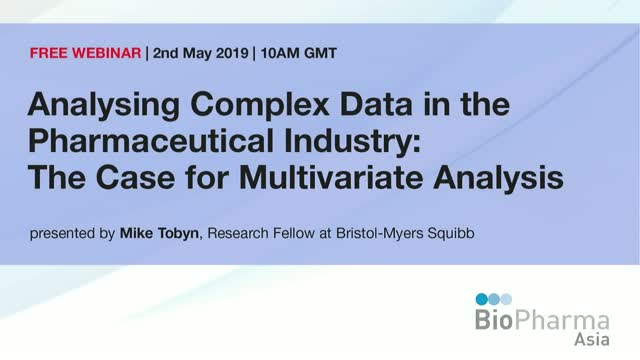 Analysing Complex Data in the Pharmaceutical Industry: The Case for Multivariate