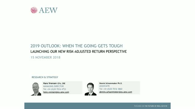 AEW Research Webcast - 2019 Market Outlook