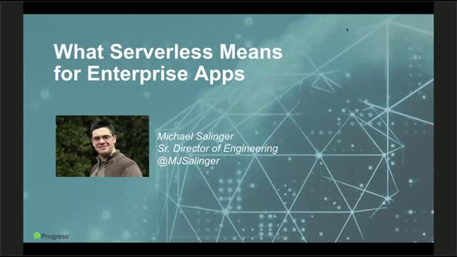 What Serverless Means for Enterprise Apps