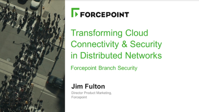 Transforming Cloud Connectivity & Security in Distributed Networks
