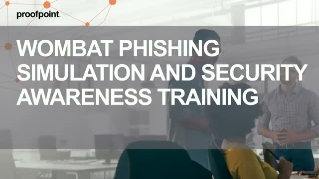 Phishing Awareness Tools | Wombat demo