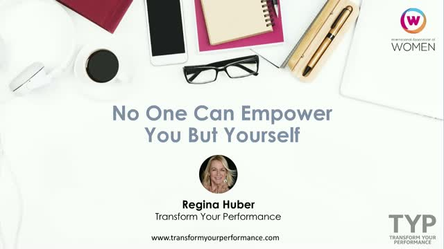 No One Can Empower You But Yourself