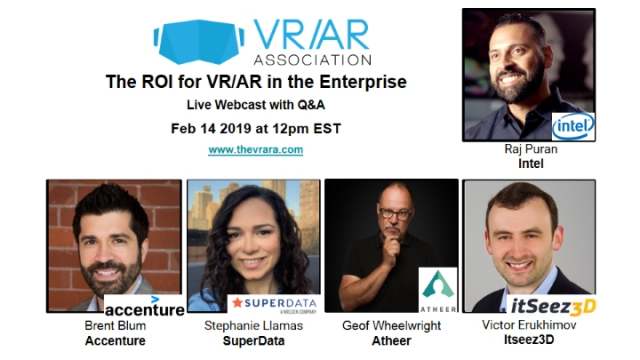 The ROI for VR/AR in the Enterprise