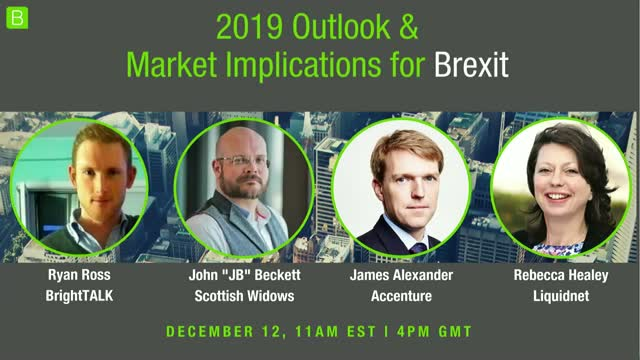 2019 Predictions - Outlook and Market Implications of Brexit