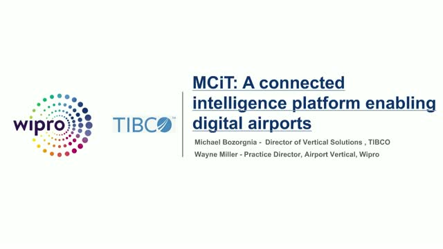 MCiT: A connected intelligence platform enabling digital airports