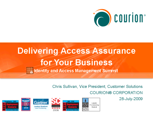Delivering Access Assurance for Your Business
