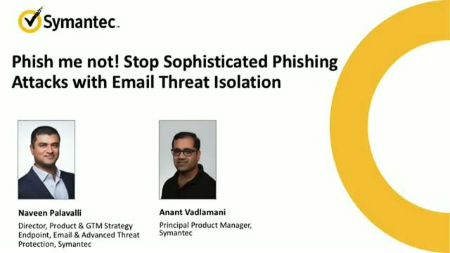Stop Phishing Attacks with Email Threat Isolation