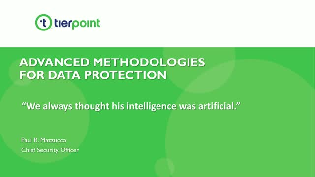 Harnessing Artificial Intelligence & Emerging Technologies for Data Security
