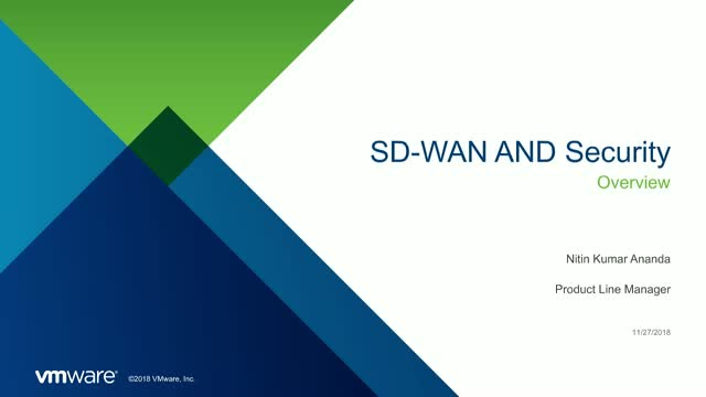 SD-WAN and Security: Operations