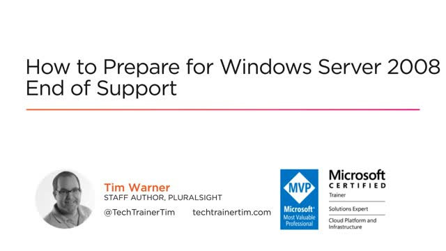 How to Prepare for Windows Server 2008 End of Support