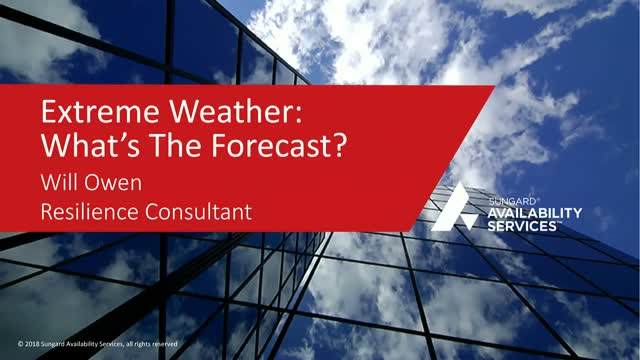 Extreme Weather: What's the Forecast?