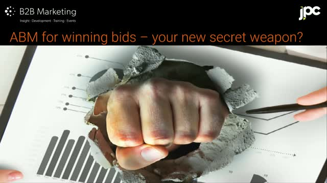 ABM for winning bids – your new secret weapon?