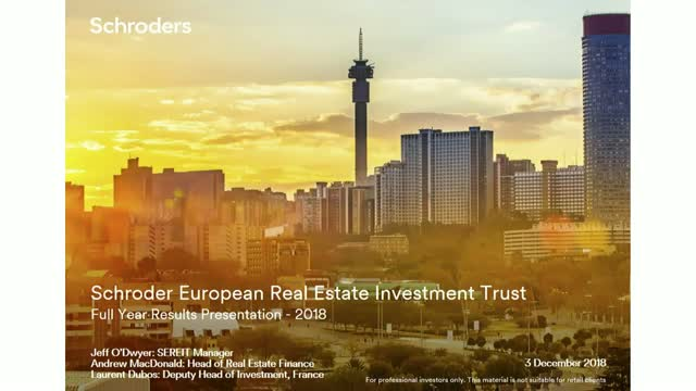 Schroder European Real Estate Investment Trust - annual results