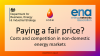 Costs and Competition in the non-domestic Energy Sector