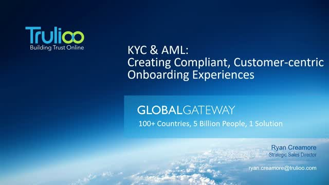KYC & AML: Creating Compliant Yet Customer-centric Onboarding Experiences