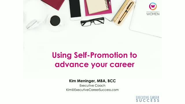 Self-Promotion Strategies to Advance Your Career