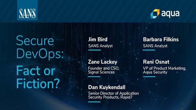 Secure DevOps: Fact or Fiction?
