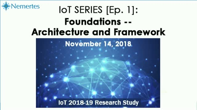 IoT Series [Ep.1]: Foundations — Architecture and Framework