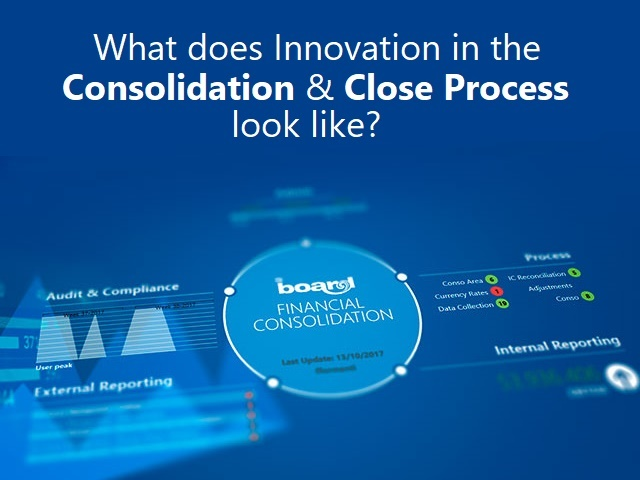 What does Innovation in the Consolidation and Close Process look like?