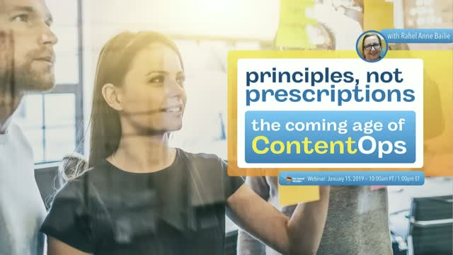 Principles, Not Prescriptions: The Coming of Age of ContentOps