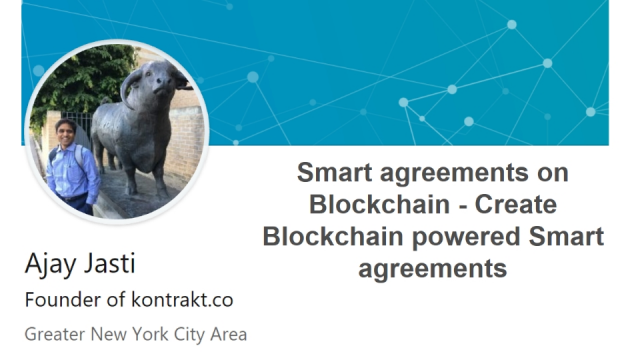 Smart agreements on Blockchain - Create Blockchain powered Smart agreements