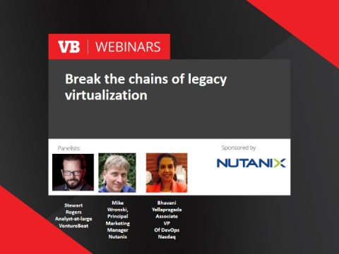 Break the chains of legacy virtualization