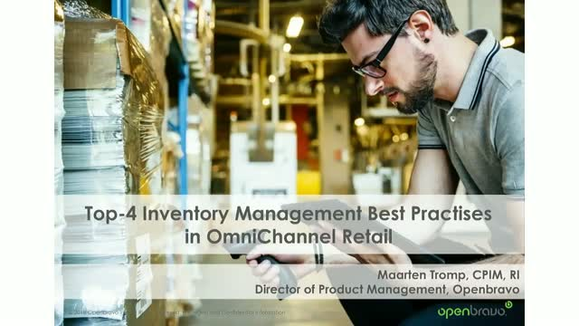 Top Four Inventory Management Best Practices for Omnichannel Retailing