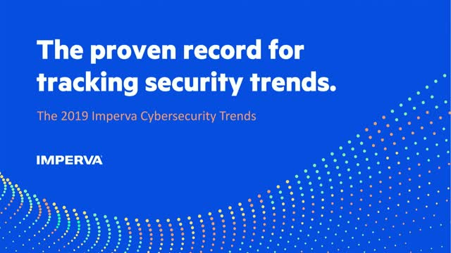 Top Cybersecurity Trends for 2019