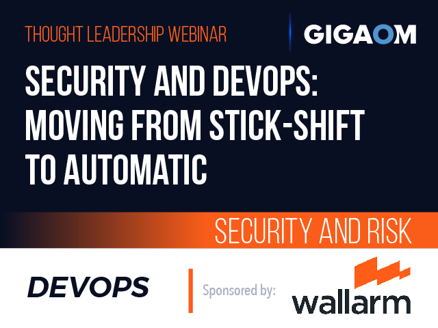 Security and DevOps: Moving from Stick-shift to Automatic