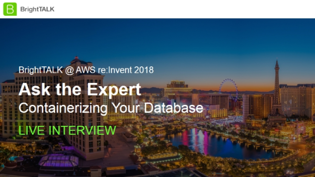 Ask the Expert: Containerizing Your Database
