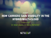 How Carriers Gain Visibility in the Hybrid/Multi-Cloud
