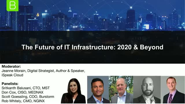 The Future of IT Infrastructure: 2020 and Beyond