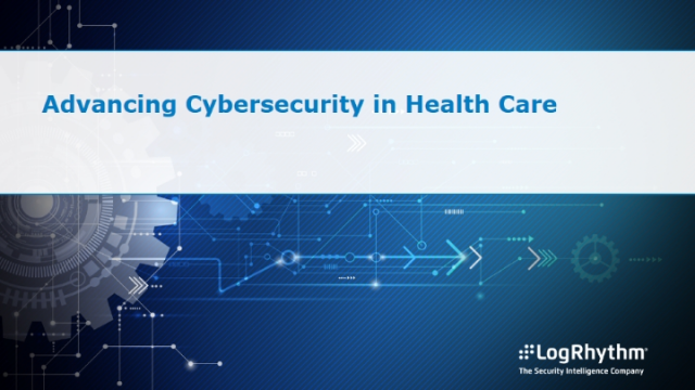Advancing Cybersecurity in Health Care