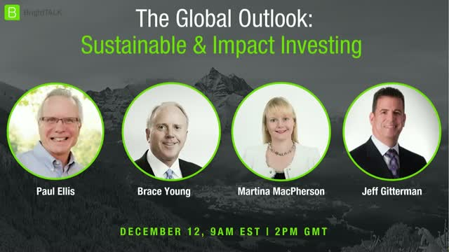 The Global Sustainable and Impact Investing Outlook