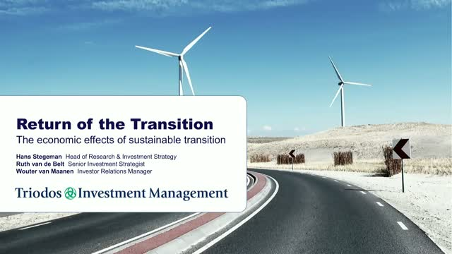 Return of Transition: The economic impacts of sustainable pathways