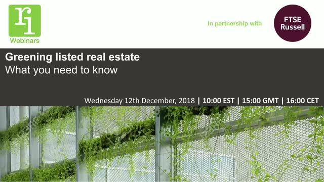 Greening listed real estate - what you need to know