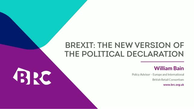 Brexit: Ask the Expert - The new version of the Political Declaration