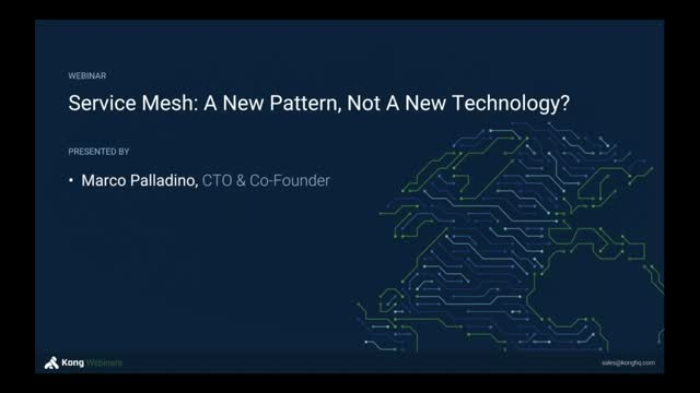 Demystifying Service Mesh: New Pattern or New Technology?
