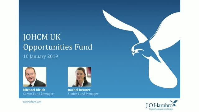 JOHCM UK Opportunities Fund Update