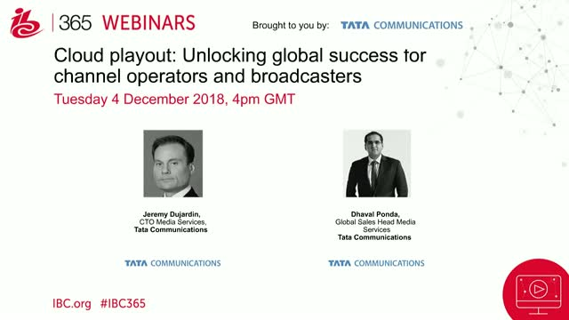 Cloud playout: Unlocking global success for channel operators & broadcasters