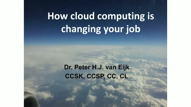 Why Cloud Computing is Changing Your Job, Career and Team