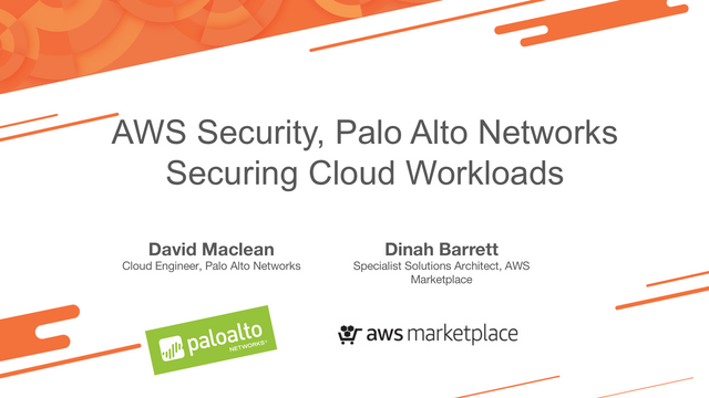 Securing AWS Workloads with Palo Alto Networks