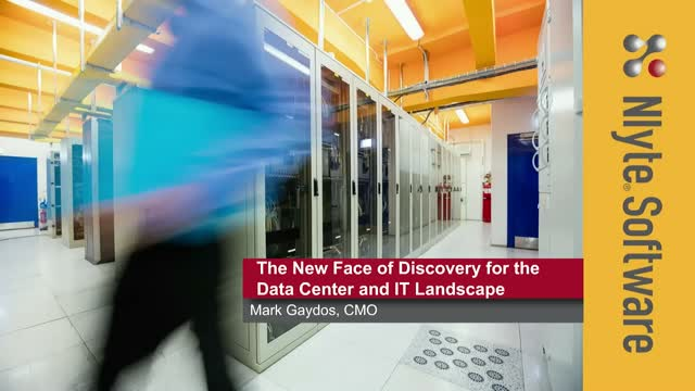 The New Face of Discovery for the Data Center and IT Landscape