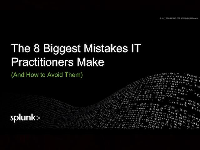 The 8 Biggest Mistakes in IT and How to Avoid Them