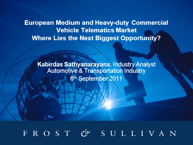 European Medium & Heavy-duty CV Telematics Market
