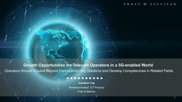 Growth Opportunities for Telecom Operators in a 5G-enabled World
