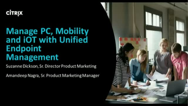 Migrate PC & Mobility with Unified Endpoint Management